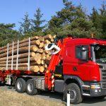 přeprava dřeva PILA MINX, Niva